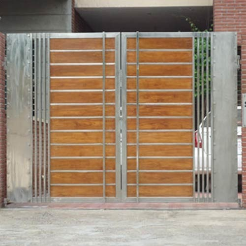 Stainless Steel Modern House Gate Designs: Stainless Steel Fancy Gate, Gate, Grilles, Fences