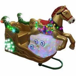 Plastic Horse Ride