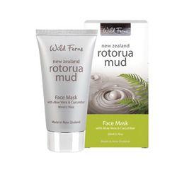 Wild Ferns Rotorua Mud Face Mask