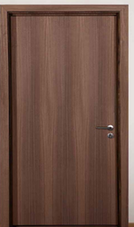 Wooden Door with Frame