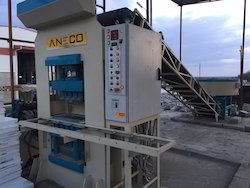 Hydraulic Press Type Fly Ash Brick Making Machine