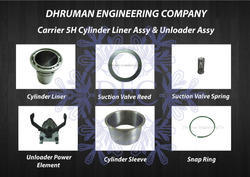 Carrier 5H Cylinder Liner And Unloader Assembly