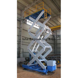 Rail Guided Scissors Lift