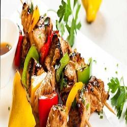 Chicken Rainbow Kebab