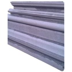Grey Honed Temple Granite Wall Stone, Thickness: 8