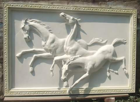 Horses Wall Mural at Rs square feets Decorative Mural ID