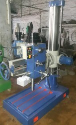 V Belt Radial Drill Machine