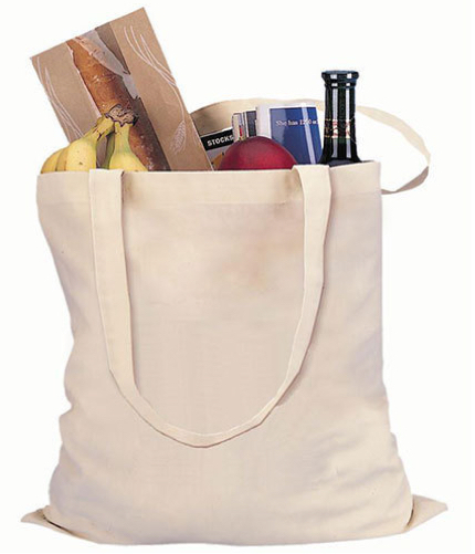 cotton grocery shopping bag