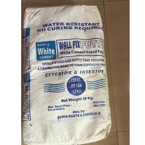 White Cement Based Wall Putty, White Cement Based Wall Putty - Surya Paints  & Chemicals, Ghaziabad | ID: 10493651773