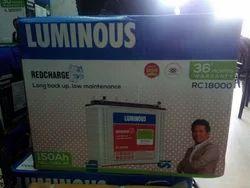 Luminous Rechargeable Battery