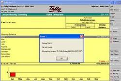 Tally Data Damage Solution