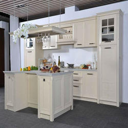 White Membrane Kitchen