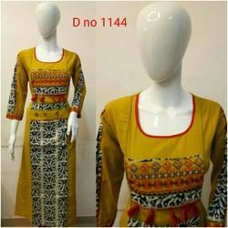 3/4th Sleeve Ethnic Wear Kurti