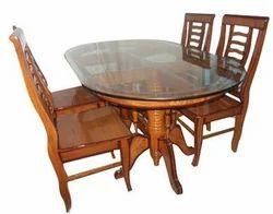 Teak Wood Dining Table Sets