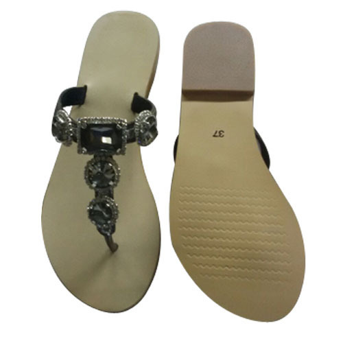 bf2d965a7 Ladies Stylish Low Heel Leather Slipper, Women Leather Slippers ...