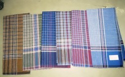 Rsn Checked Handkerchief, Size: 21*21/ 18*18