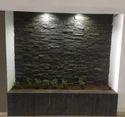 Lava Black Rockface Stone Wall Tiles