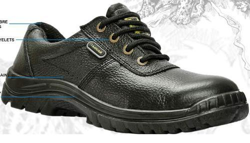 94686cd1fd3f06 Black Leather Jaguar Safety Shoes,Feature : Oil Resistant, Rs 675 ...