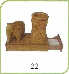 22 Wooden Handicraft