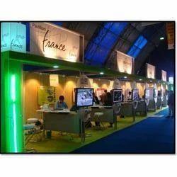 Exhibition Stall Installation : Trade fair exhibition stall installation in omaxe plaza ghaziabad