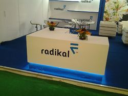 Wooden Exhibition Stall Setup Service