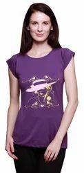 Printed Ladies T-Shirt