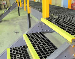 FRP Stair Treads Grating