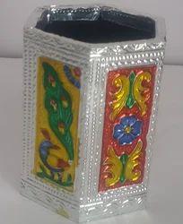 Multicolor Satya Meenakari Pen Holder