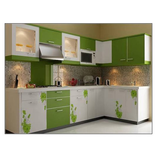 Param Wooden Stylish Modular Kitchen, Rs 1800 /sqft, Param