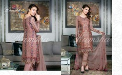 Embroidered Chiffon Suit