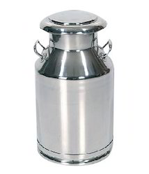 Steel Milk Storage Can 40 Ltr