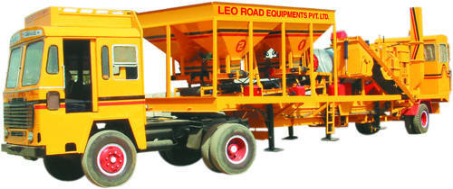 LEO Movable Asphalt Drum Mix Plant