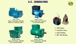 A. C. Generators Alternator