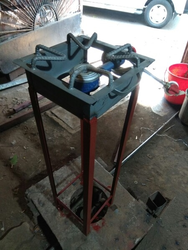 MS Gas Stand Fabrication