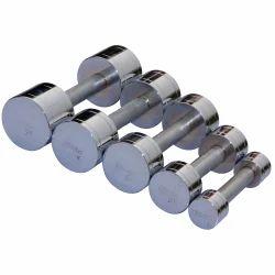 Vinex, Iron Dumbbells in round shape, weight: 0.5 Kg, 1.25 Kg, 2.5 Kg, 5 Kg, 10 Kg and 15 Kg