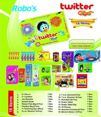 Robo's Gift Box Twitter 16 Items