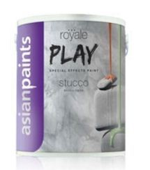 Asian Paints Royale Play Stucco Interior Paint Cool Green
