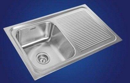 Neelkanth Kitchen Sinks, Gloss Finish, NK SBSD22 G/M - Atlantic Tile ...