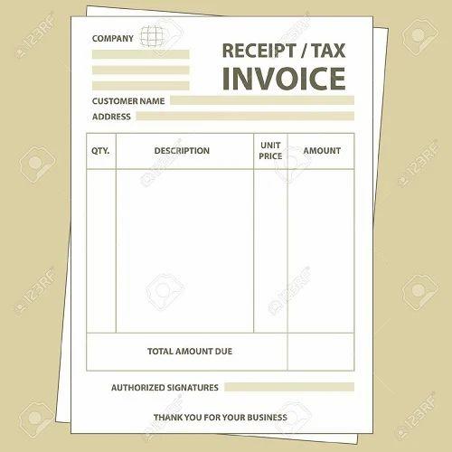 invoice printing paper vinayaga forms manufacturer in