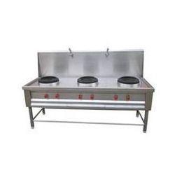 Chinese 3 in 1 Cooking Range, Cooking Range - Balaji Engineering ...