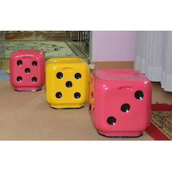 Plastic Dice Stool