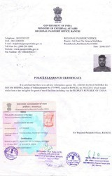 Police Clearance certificate Attestation in Mahipalpur
