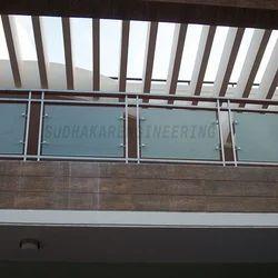 Modern Elevation Glass Railing