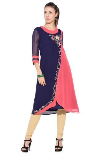 a53a7fe17040 Styling Indo Western Style Party Wear Designer Long Kurti, Casual ...