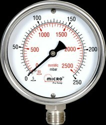 Dry and Liquid Pressure Gauge