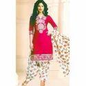 Pink Patiala Suit