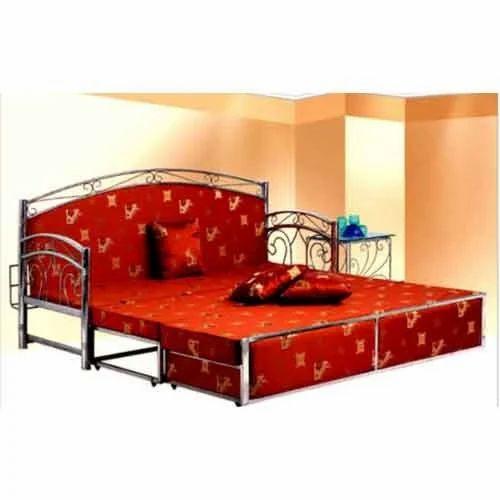 Designer Stainless Steel Sofa Bed