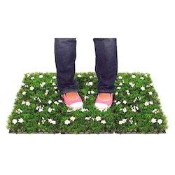 Flowery Grass Mat