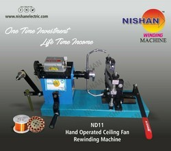 Hand Operating  Fan  Winding Machine