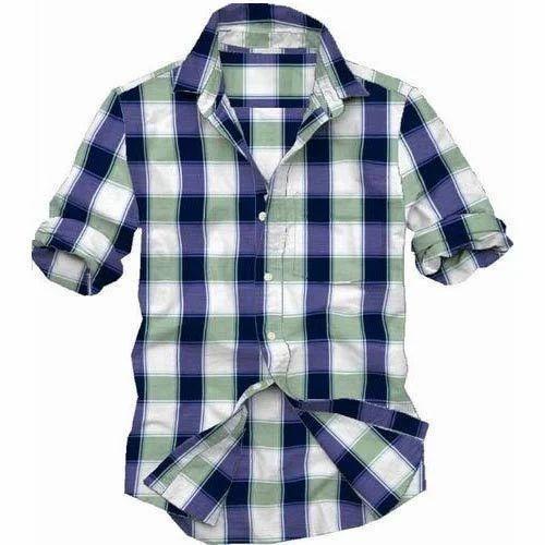 Mens Stylish Check Shirts at Rs 300 /piece(s)   Mens Check Shirt ...